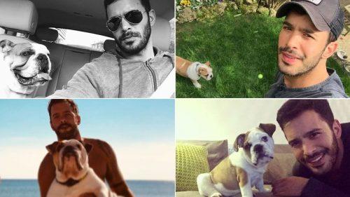 Baris and his dog
