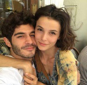 Burak Deniz and his girlfriend Busra