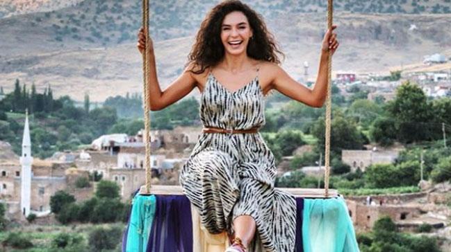 Ebru Turkish actress from Hercai