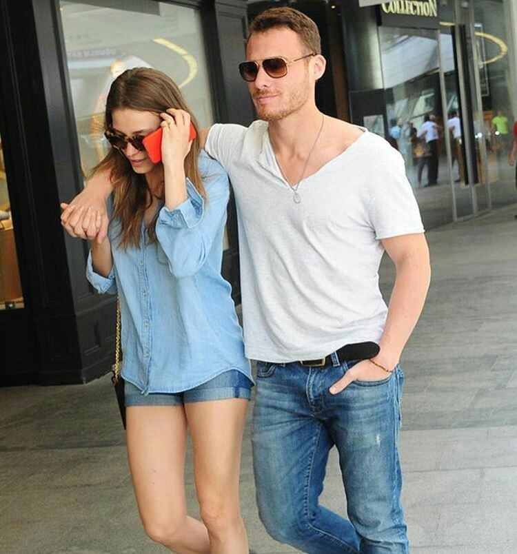 Kerem and his girlfriend